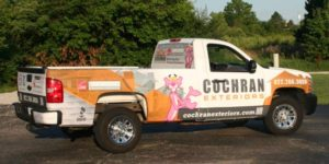 vehicle wraps by Dynamark Printing Indianapolis Indiana